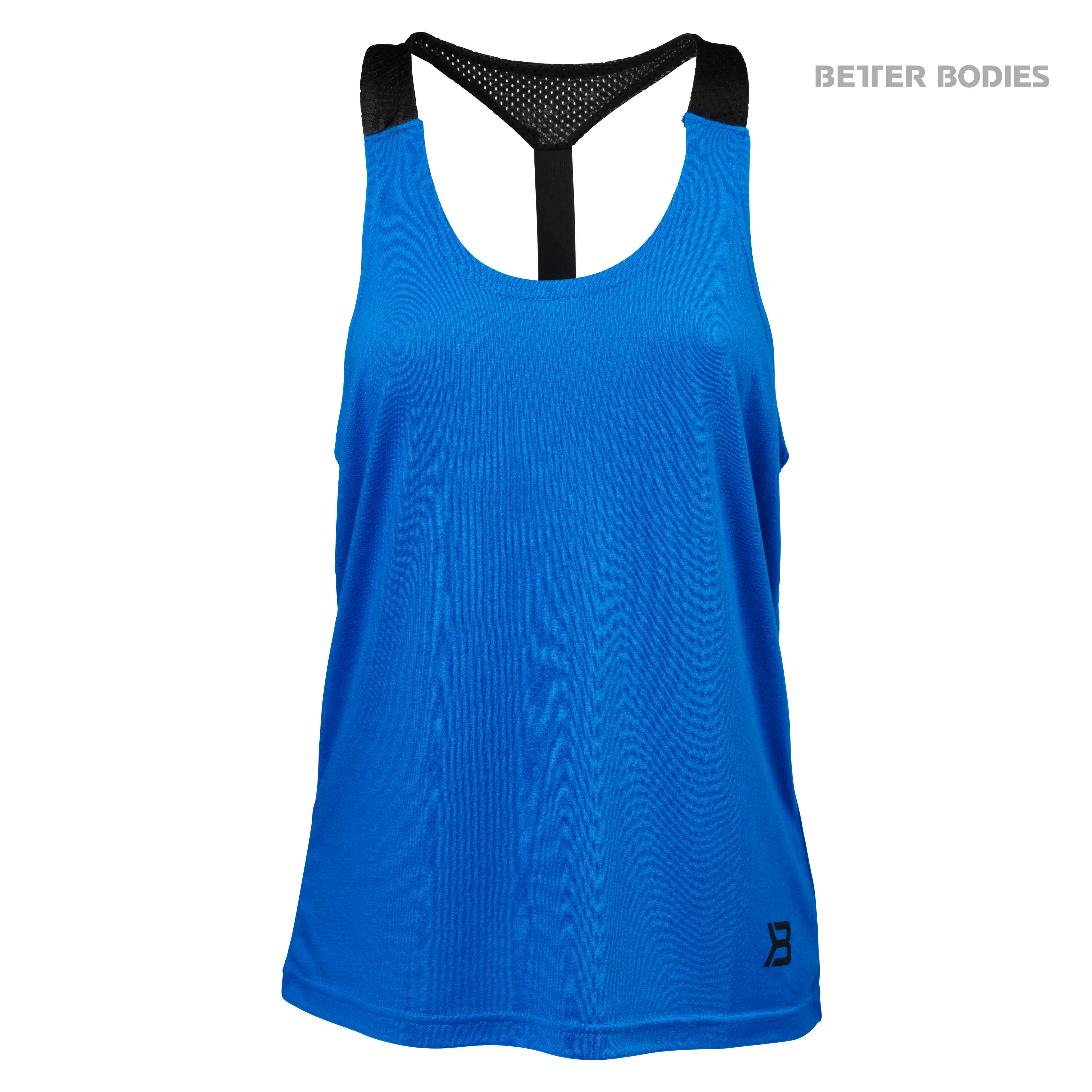 Loose Fit tank Blue Front